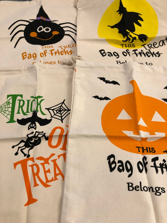Halloween Trick or Treat Sacks