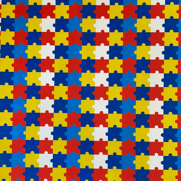 Autism Patterned HTV