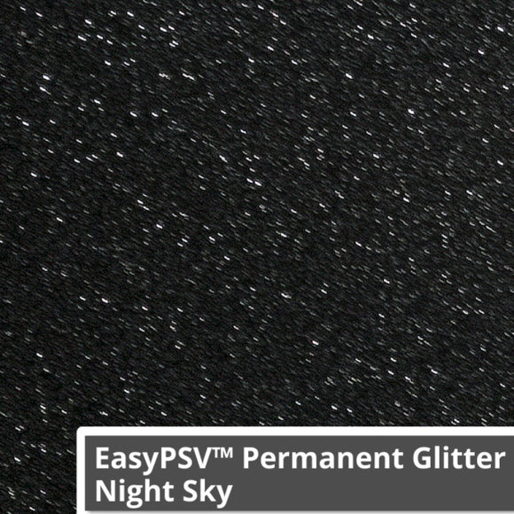 Siser PSV Permanent Vinyl Glitter   - Night Sky