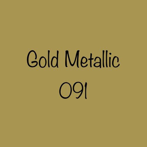 Oracal 651 Permanent Vinyl Gold (091)