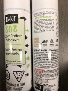 ODIF 808 Spray and Fix Temporary Adhesive for Paper Patterns - 156g