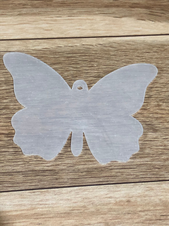 Butterfly Acrylic with Hole