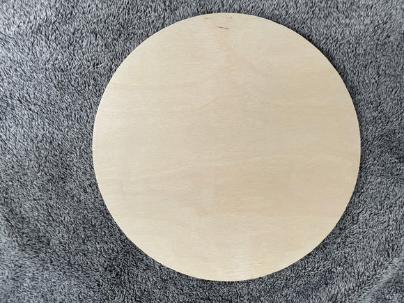 "12"" round Baltic Birch"