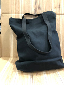 "Quality Heavy Canvas Tote Bag with 3 "" Gusset"