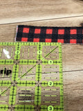 Buffalo Plaid Cotton Webbing 1 Inch Wide