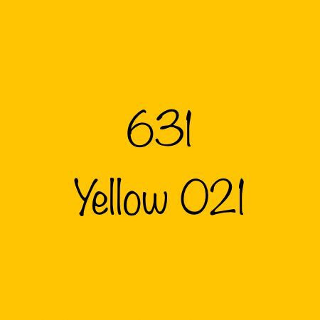 Oracal 631 Removable Adhesive Vinyl Yellow (021)