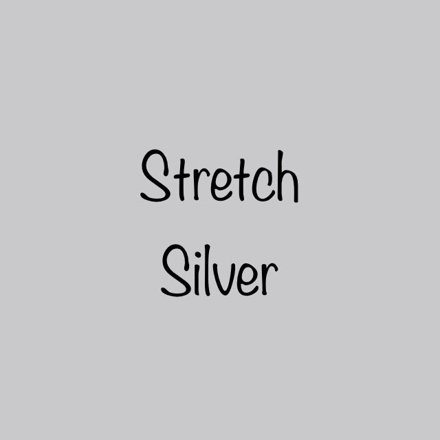 Siser EasyWeed Stretch Silver