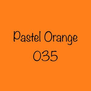 Oracal 651 Permanent Vinyl Pastel Orange 035