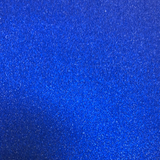 Smooth Iridescent Glitter Faux Leather Navy
