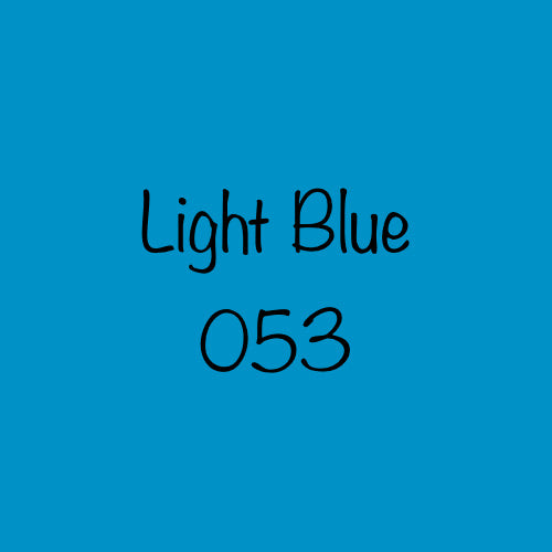 Oracal 751  Permanent Vinyl (marine grade) -  Light Blue