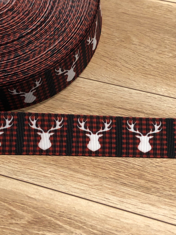 Buffalo Plaid w Buck Ribbon