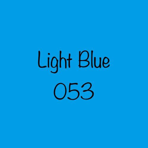 Oracal 651 Permanent Vinyl Light Blue (053)