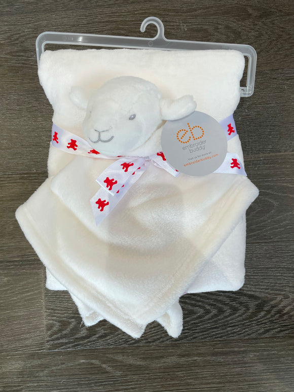 Lamb Blanket Set