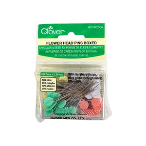 CLOVER 2506 - Flower Head Pins (Boxed) 100 Pk