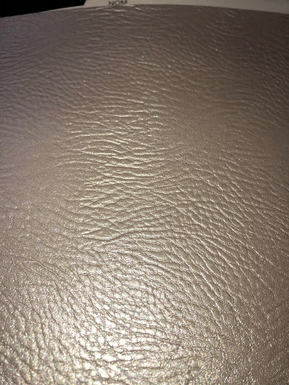 Champagne Textured  Faux Leather