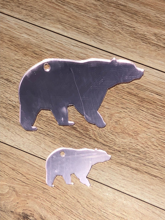 Rose Gold Mirror  Bears Acrylic