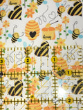 Faux Leather Honey Bee