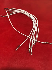 Polyester Cords with Metal  Barb ends for masks