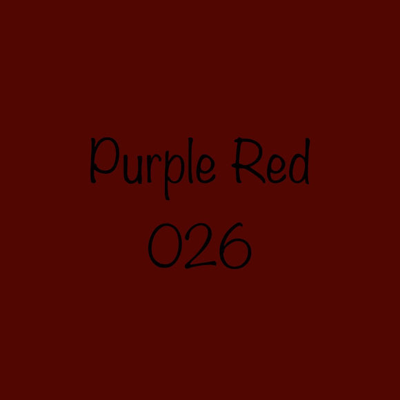 Oracal 651 Permanent Vinyl Purple Red (026)