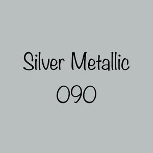 Oracal 651 Permanent Vinyl Silver Metallic (090)