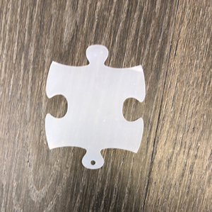 Puzzle Piece Acrylic with Hole