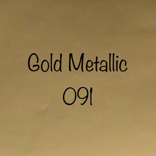 Oracal 631 Removable Adhesive Vinyl Gold Metallic (091)