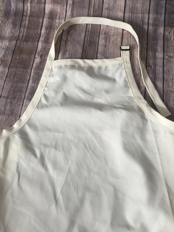 Aprons with  Adjustable Neck Strap - Natural Color