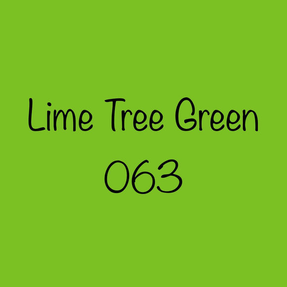 Oracal 651 Permanent Adhesive Vinyl Lime Tree Green 063