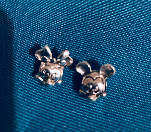 Mr and Mrs Mouse charms