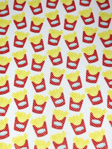Mini Fries Faux leather