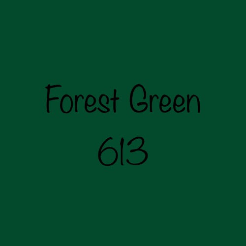 Oracal 651 Permanent Vinyl Forest Green (613)