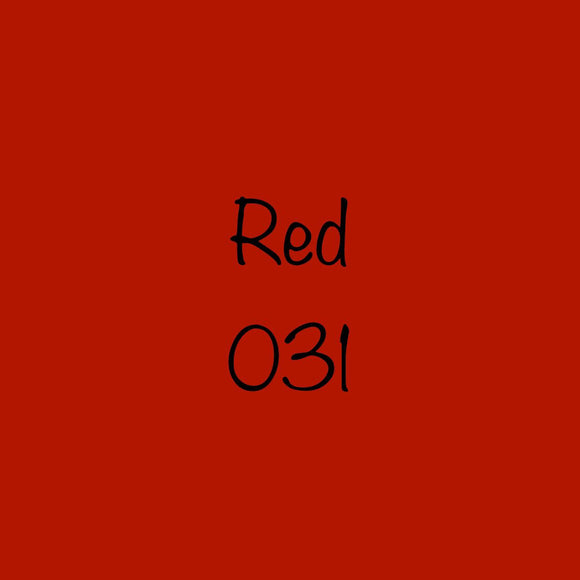 Oracal 651 Permanent Vinyl Red (031)