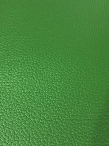 Grinch Green Litchi Faux Leather