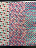 Set of 6 Glitter Mermaid Scales Faux Leather (15 x 21 cm)