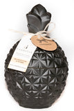 Large Matte Black Pineapple