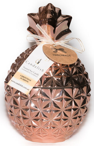 Large Rose Gold Pineapple