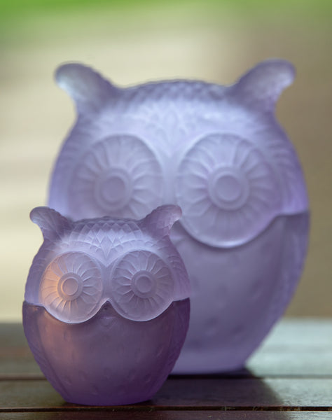 Lilac Baby Owl