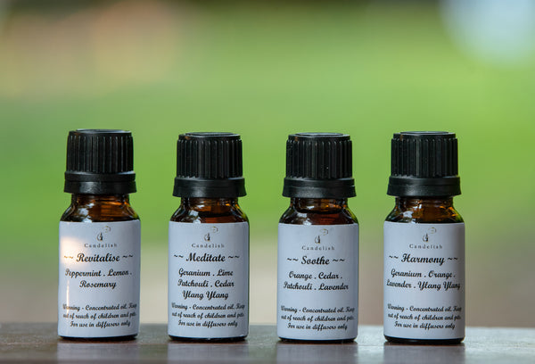 Essential Oils for Ultrasonic Diffusers