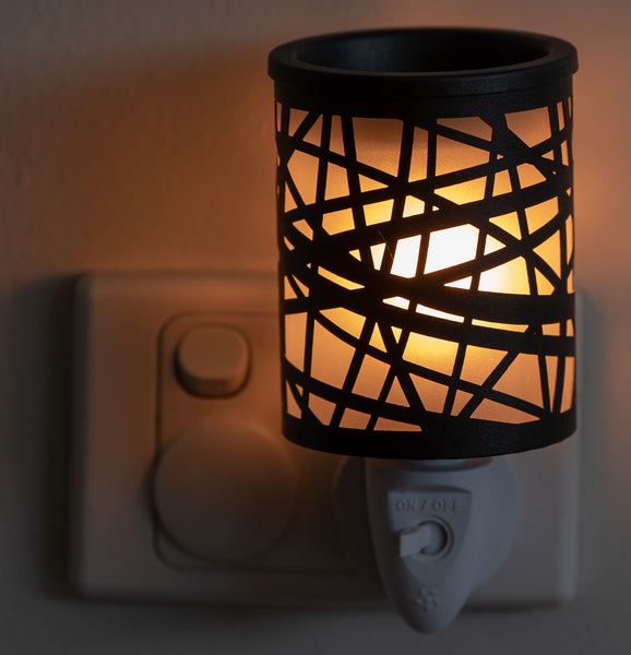 Criss-cross Plug-in Warmer
