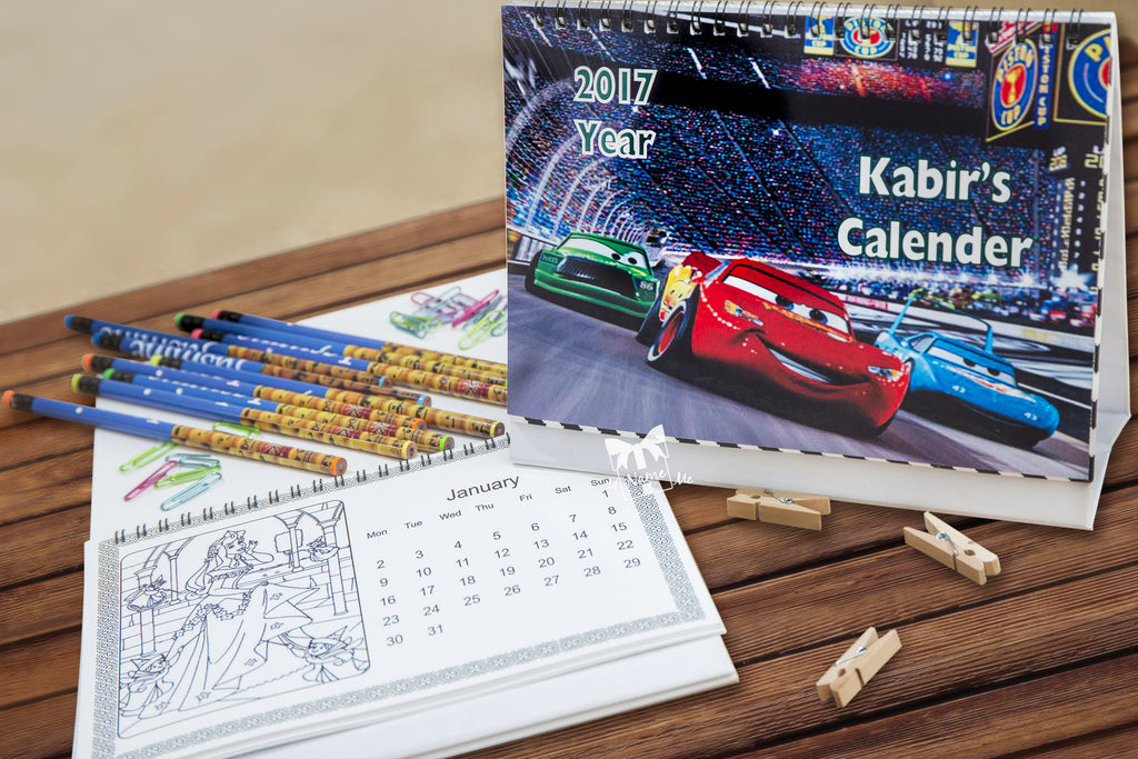 Colouring Calenders