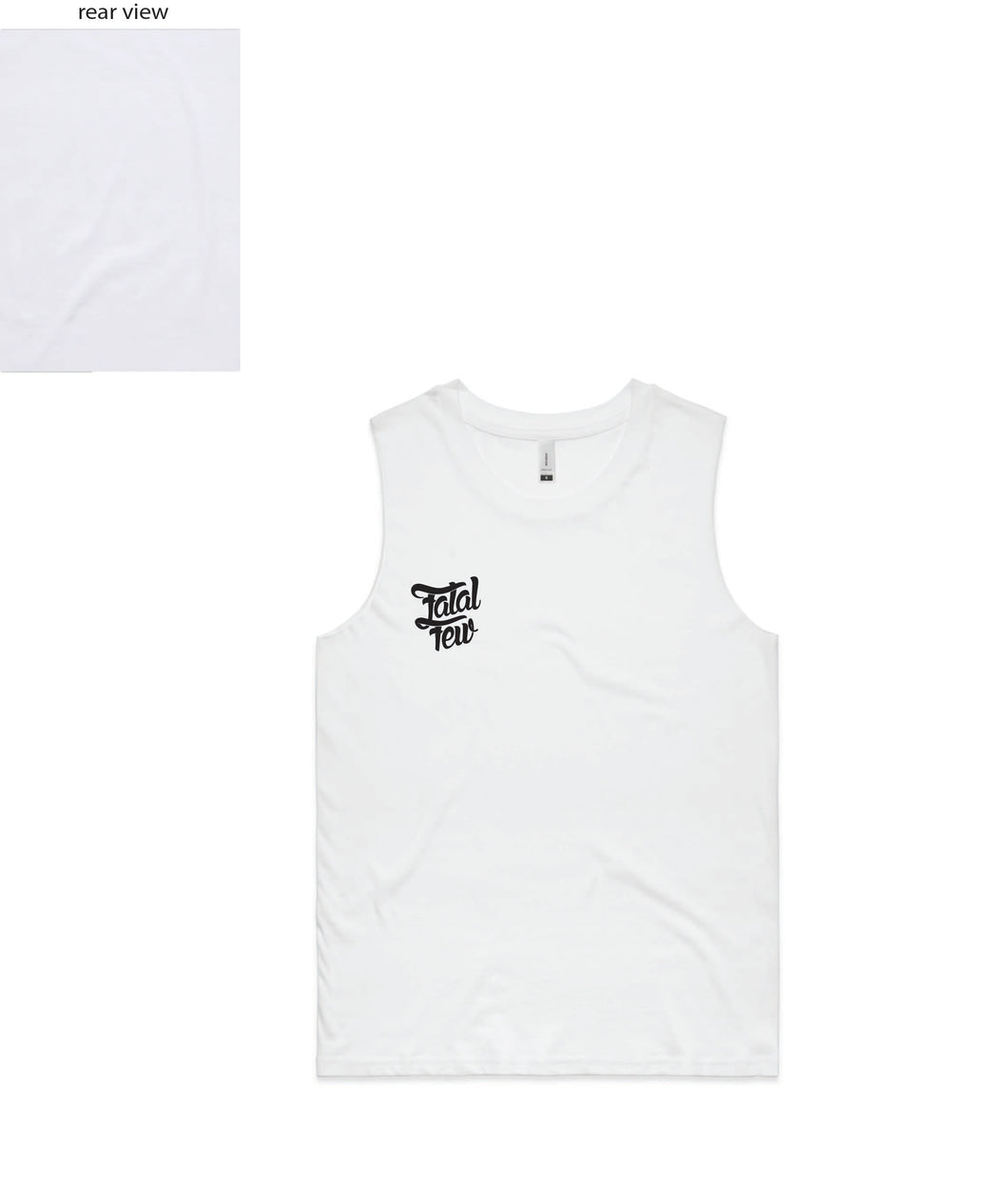 WOMENS Original Singlet (Fatal Few Front/Plain Back)