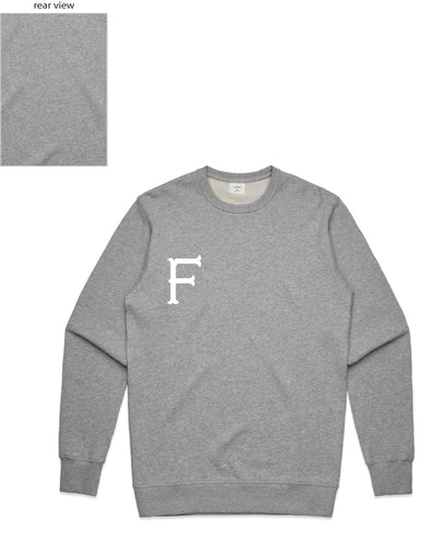 FTLFW Crewneck (F Front/Plain Back) - more colours available