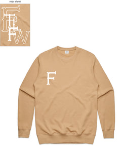 FTLFW Crewneck (F Front/FTLFW Back) - more colours available