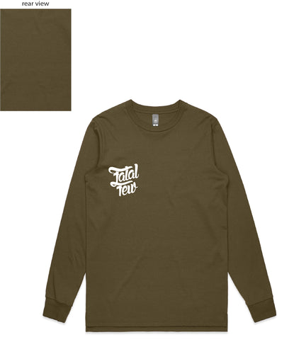 Original Long Sleeve (Fatal Few Front/Plain Back) - more colours available