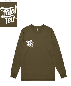 Original Long Sleeve (Fatal Few Front/Fatal Few Back) - more colours available