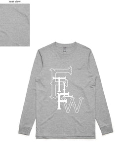 FTLFW Long Sleeve (FTLFW Front/Plain Back) - more colours available