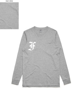 Relentless Long Sleeve (FF Front/Plain Back) - more colours available