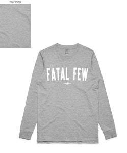 Varsity Long Sleeve (Fatal Few Front/Plain Back) - more colours available