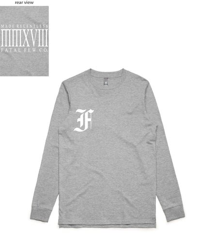 Relentless Long Sleeve (FF Front/Relentless Back) - more colours available