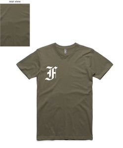 Relentless Tee (FF Front/Plain Back) - more colours available